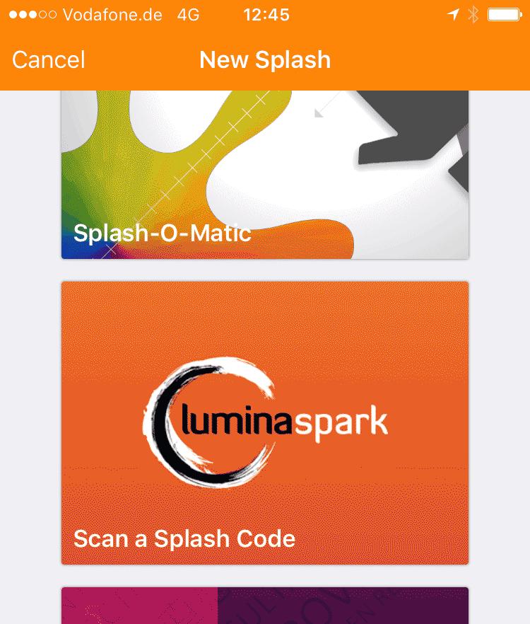Lumina Spark Splash Seminar - München Berlin