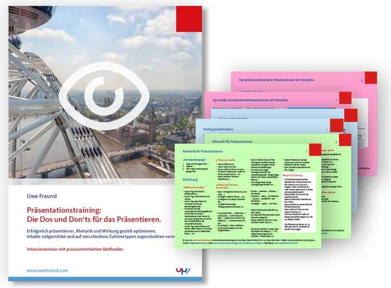 Seminar-Handbuch: Präsentationstraining - Präsentationsseminar